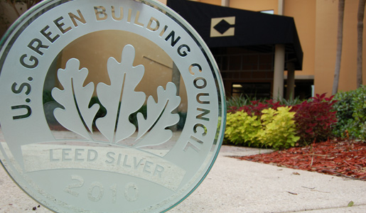 "LEED Silver Award for the Allen Morris ""Center Building"""